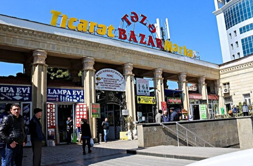 Teze Bazaar Baku - where you can find eastern products